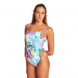 Allover U Back One Piece, Size: 36, image