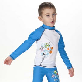 Arena Water Tribe UV Long Sleeve T-Shirt, Size: 1Y, image