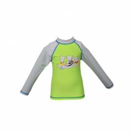 Arena Friends Kids Uv L/S Tee Kids' Swimsuit, Size: 1Y, image