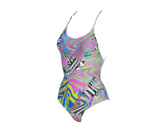 Twist Back Reversible One Piece, Size: 36, image